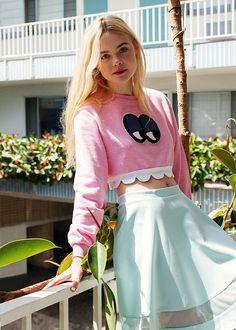Elle Fanning voor ASOS magazine - Fashionscene.nl
