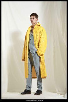 JOSEPH Fashion, Spring Summer 2018 Menswear Collection, Look 29 // Creative Director: Louise Trotter. Head of Menswear: Mark Thomas. Styling: Tony Irvine. Photography: Bibi Borthwick. Model: Jamie McVey //