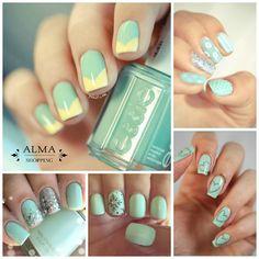 Con el Lucite Green las #uñas se ven con un aire de frescura ► www.almashopping.com  #NailArt #Nails
