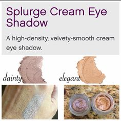 "Check out ""Dainty"" the latest cream shadow from Younique ! www.magicmascara.us"