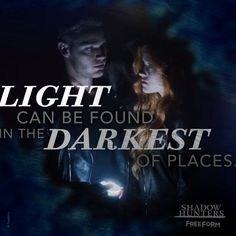 """S1 Ep2 """"The Descent Into Hell Is Easy"""" - Shine bright.  #Shadowhunters"""