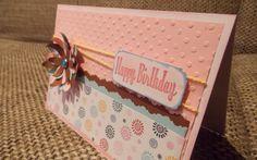Geburtstagskarte - Verträumter Bastelzauber