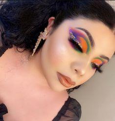 Makeup Inspiration, Makeup Ideas, Makeup Tips, Beauty Makeup, Hair Beauty, Eyeliner, Eyeshadow, Creative Makeup Looks, Colorful Eye Makeup