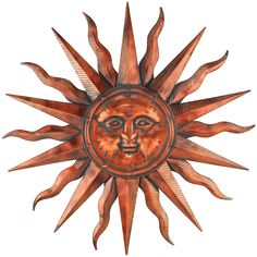 Regal Art andGift Copper Patina Sun 40' >>> More info could be found at the image url. (This is an affiliate link) #WallSculptures