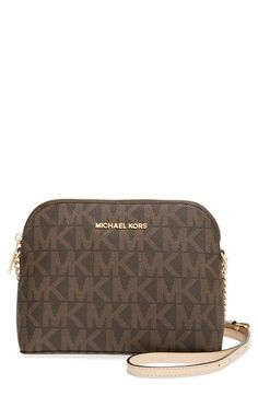 MICHAEL Michael Kors 'Large Cindy' Dome Crossbody Bag available at #Nordstrom