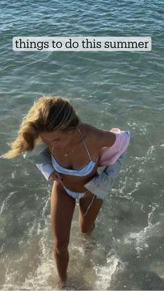 Summer Fun List, Summer Goals, Summer Bucket Lists, Sleepover Things To Do, Fun Sleepover Ideas, Summer Dream, Summer Beach, Summer Vibes, Cute Beach Pictures