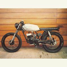 eberbmx:Vendo #caferacer #ax100 #suzuki #motorbike #motorcycle #custom: