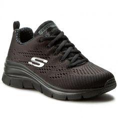 Cipők SKECHERS - Statement Piece 12704/BBK Black Sketchers, Sneakers, Shoes, Black, Fashion, Chic, Moda, Sneaker, Zapatos