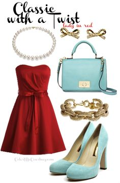 red outfits for ladies - Google Search