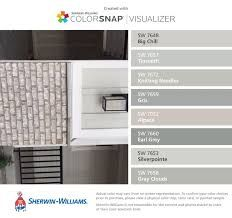 Sherwin williams neutral white hgsw4017 origami white hgsw4007 downstairs living space for Knitting needles paint exterior