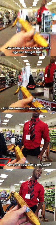 Upgrade my banana // funny pictures - funny photos - funny images - funny pics - funny quotes - #lol #humor #funnypictures