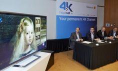 Hispasat presenta su canal de ultra alta definición como el futuro de televisión