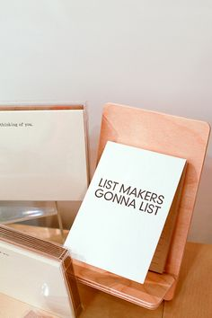 I love my list. It feels all tingly to scratch an item off once accomplished!
