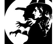 Image result for witch stencils