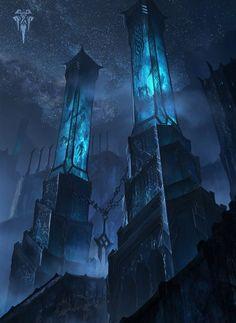 Frostguard Citadel (Lissandra Promo) HD Wallpaper Background Official Art Artwork League of Legends lol