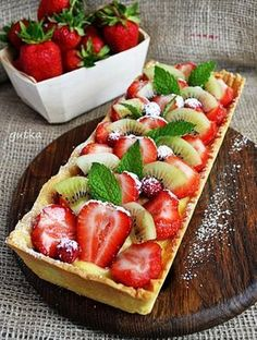 Tart Recipes, Cheesecake Recipes, Baking Recipes, Sweet Recipes, Healthy Recipes, Good Food, Yummy Food, Sweet Pastries, Bread Cake