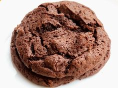 Flourless Chocolate Almond Butter Cookies - Easiest cookie ever!