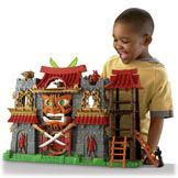 Fisher-Price Imaginext Samurai Castle- so glad that there's boys in my life to buy this for!!!