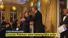 """De winnaar van de Libris Literatuur Prijs 2016 is op 9 mei bekend gemaakt. Connie Palmen won met haar roman """"Jij zegt het"""" (die ik onlangs in de klas heb voorgesteld). De schrijfster ontvang een geldprijs van 50.000 euro."""