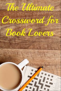The Ultimate Crossword for Book Lovers! -- I did really bad. I know like, 5 of them. Cool Books, I Love Books, Books To Read, My Books, Book Sayings, Book Quotes, Words Quotes, Reading Boards, Puzzle Books
