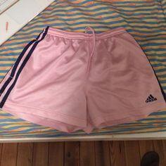 adidas pink shorts girl Large Adidas Shorts