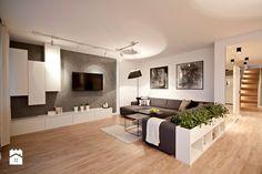 Salon styl Nowoczesny - zdjęcie od IDAFO projektowanie i wykończenie wnętrz