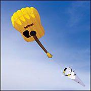 Air Guitar Kite