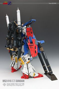 1/60 MSZ-010 ZZ Gundam...