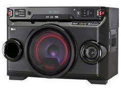 Mini System LG 1 CD 200W RMS MP3 USB - com as melhores condições você encontra no Magazine Shopspremium. Confira!