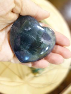 ~GORGEOUS TURQUOISE BLUE GREEN FLUORITE LOVE HEART~  AVAILABLE====>