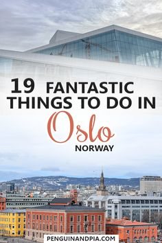There are lots of gr There are lots of great things to do in Oslo the capital of Norway. We share 19 fantastic attractions that you shouldn't miss when exploring the Norwegian capital! Norway Travel Guide, Europe Travel Guide, Cool Places To Visit, Places To Travel, Travel Destinations, Lofoten, European Destination, European Travel, Jotunheimen National Park