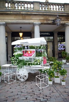 Chanel Flower Stall, Covent Garden, London
