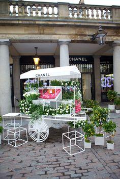 Chanel Flower Stall, Covent Garden, London