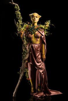 Syfy Face Off Season 5 Episode 5 - Mother Earth Goddess Spotlight Challenge - Miranda Face Off Makeup, Face Paint Makeup, Makeup Art, Fairy Makeup, Sfx Makeup, Mermaid Makeup, Crazy Makeup, Face Off Syfy, Mother Nature Costume