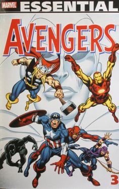 Essential Avengers, Vol. 3 (Marvel Essentials) by Roy Thomas