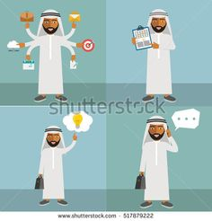 Image result for arab icon characters shopping
