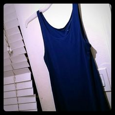 Blue tank top Royal blue tank top. Gently used condition. Mossimo Supply Co Tops Tank Tops
