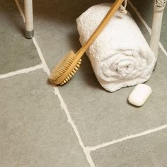 Limestone flags from Indigenous | Bathroom flooring ideas | housetohome.co.uk