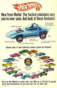 WEB WASTELAND: Old Hot Wheels ads