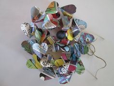 Vintage French 101 Dalmatians Paper Heart Garlands by futtatinni, $10.00