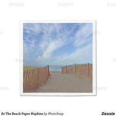 At The Beach Paper Napkins