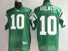 48f5cbb22 Reebok New York Jets Santonio Holmes Stitched Green NFL Jersey