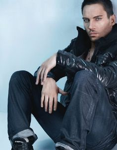 Jonathan Rhys Meyers...i luv him! he's so good at being bad and he's extremely easy on the eyes ;)