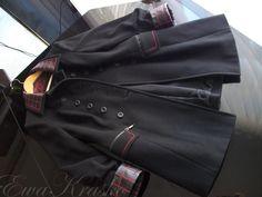 cappotto con rifiniture in pelle 003