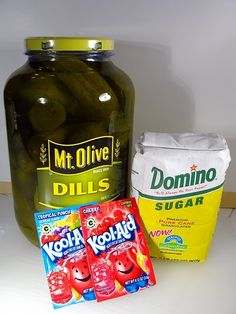 From the Mississippi Delta: Koolickles (AKA Kool-Aid Pickles)