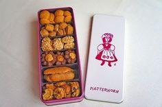 MATTERHORN 缶入りクッキー