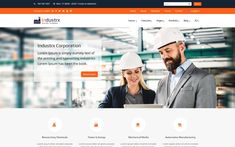 Industrx Business-Industry Joomla Template About Us Page, Joomla Templates, Admin Panel, Grid System, Creative Portfolio, Create Website, Portfolio Website, Light In The Dark