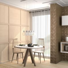 Collection View | Vives Azulejos y Gres | serie Halsa madera cerámica | living room #tiles #decor #design #neutral #tones
