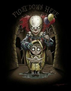 i love that it is in the style of Tim Burton but it is super scary Tim Burton Kunst, Tim Burton Art, Tim Burton Style, Tim Burton Films, Arte Horror, Horror Art, Horror Cartoon, Scary Movies, Horror Movies