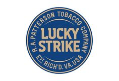 logotipo lucky strike blue